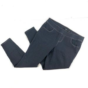 Torrid Skinny Pull On Jeans Dark Wash Sz 1, 14/16